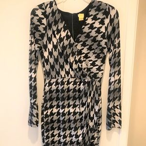 Cache Faux Wrap Dress